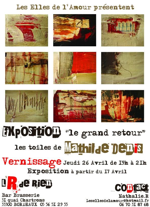 VERNISSAGE Jeudi 26/04/07 Mathilde Denis Votre_10