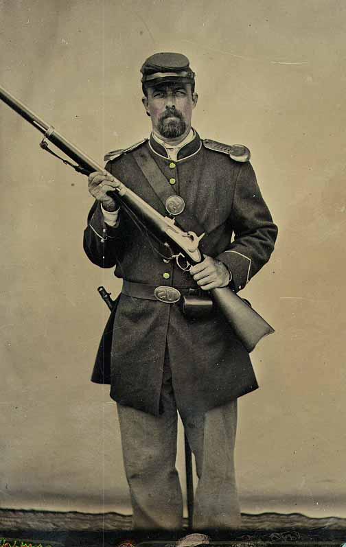 Galerie photos d'époque: Combattants de la guerre civile US 611