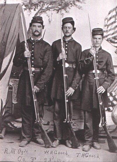 Galerie photos d'époque: Combattants de la guerre civile US Union_11