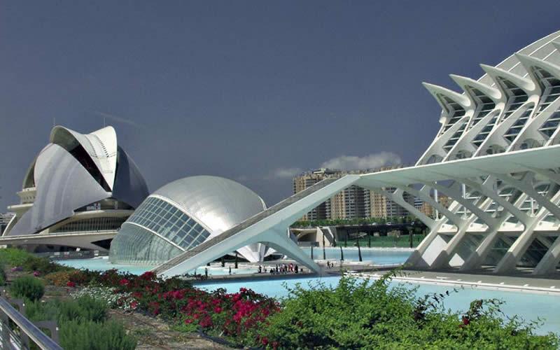Cité des Arts et des Sciences à Valencia (Espagne) Cite_d10