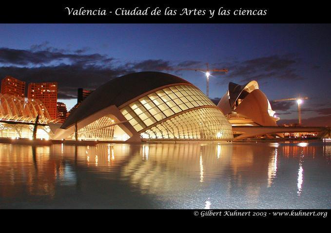 Cité des Arts et des Sciences à Valencia (Espagne) Ciudad10
