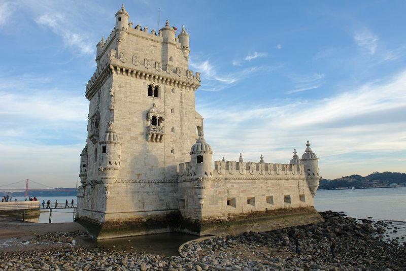 La Tour de Belem à Lisbonne - Portugal Torre_12
