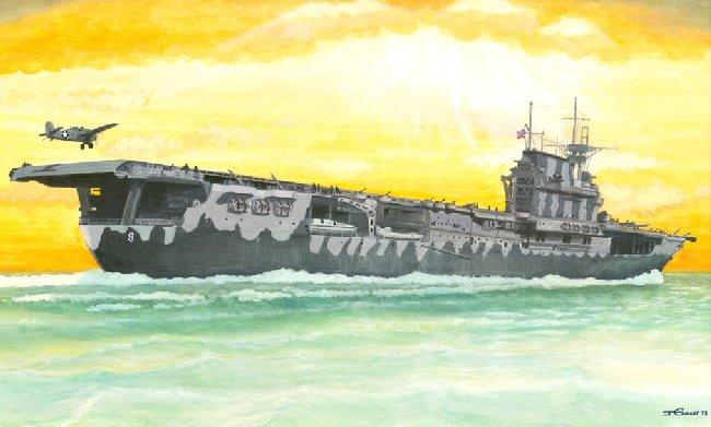 [Trumpeter] USS HORNET CV8 1/350 Cv810