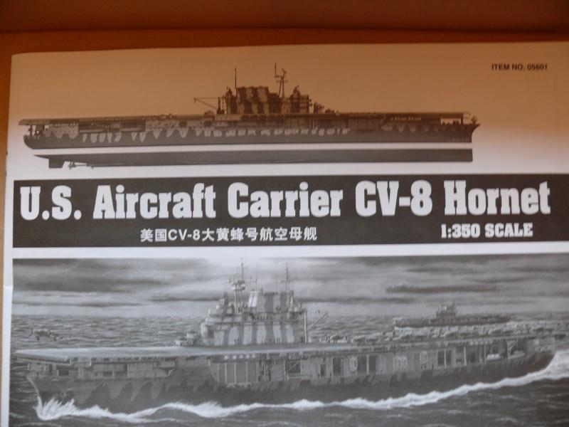 [Trumpeter] USS HORNET CV8 1/350 P1000510
