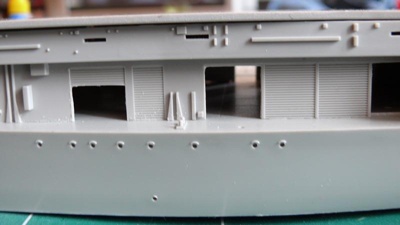 [Trumpeter] USS HORNET 1/350 P1000530