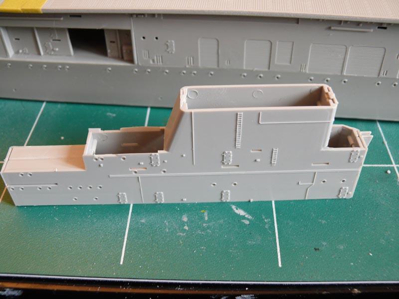 [Trumpeter] USS HORNET 1/350 P1000532