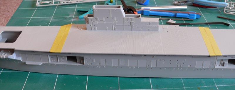 [Trumpeter] USS HORNET 1/350 P1000534