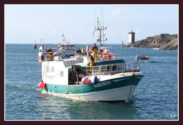 [Vie des ports] Le Conquet 20070311