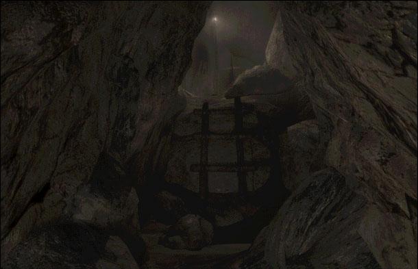 Une faille dans la falaise Myst2i10
