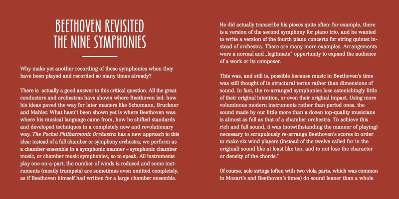 Les symphonies de Beethoven revisitées Bookle11