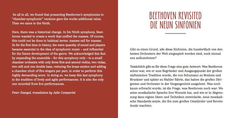 Les symphonies de Beethoven revisitées Bookle13