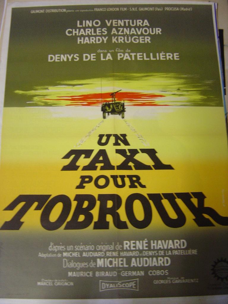 Un taxi pour Tobrouk Affich10
