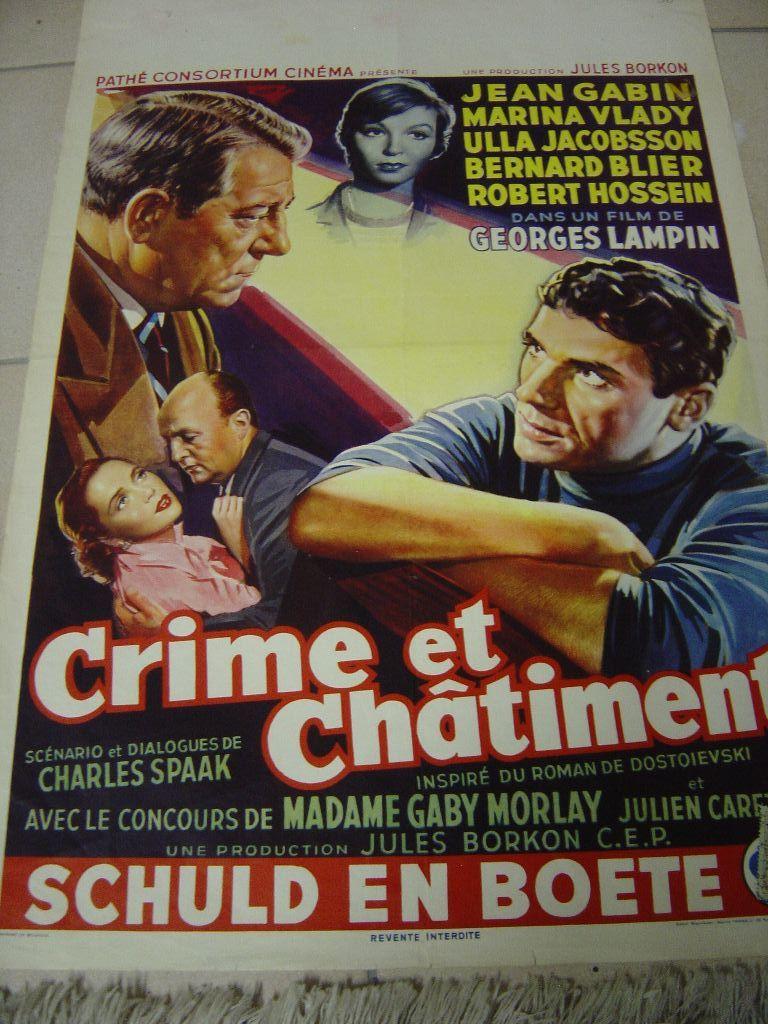 Crime et châtiment Affich20