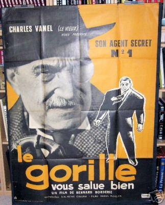 Le Gorille vous salue bien Affich28