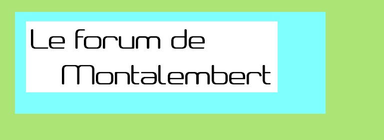 Le Forum Du Lycée Montalembert