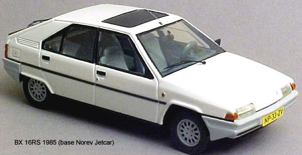 Les BX Norev Jetcar Citroe12