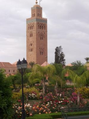 صورة من مراكش العتيقة 110