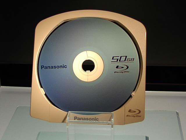 Blu-Ray Discs the future HDD Panaso10