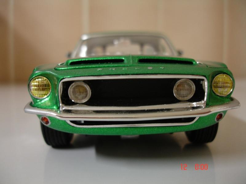 MUSTANG COBRASHELBY GT 500 ech 1/24ème ref L 738 Dsc01714