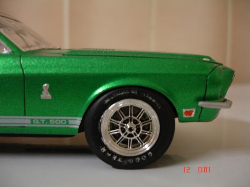 MUSTANG COBRASHELBY GT 500 ech 1/24ème ref L 738 Dsc01715