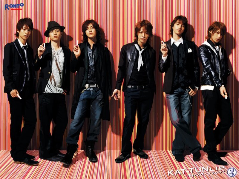 Kat-tun & autres groupes de Johnny's Entertainment. Kattun10