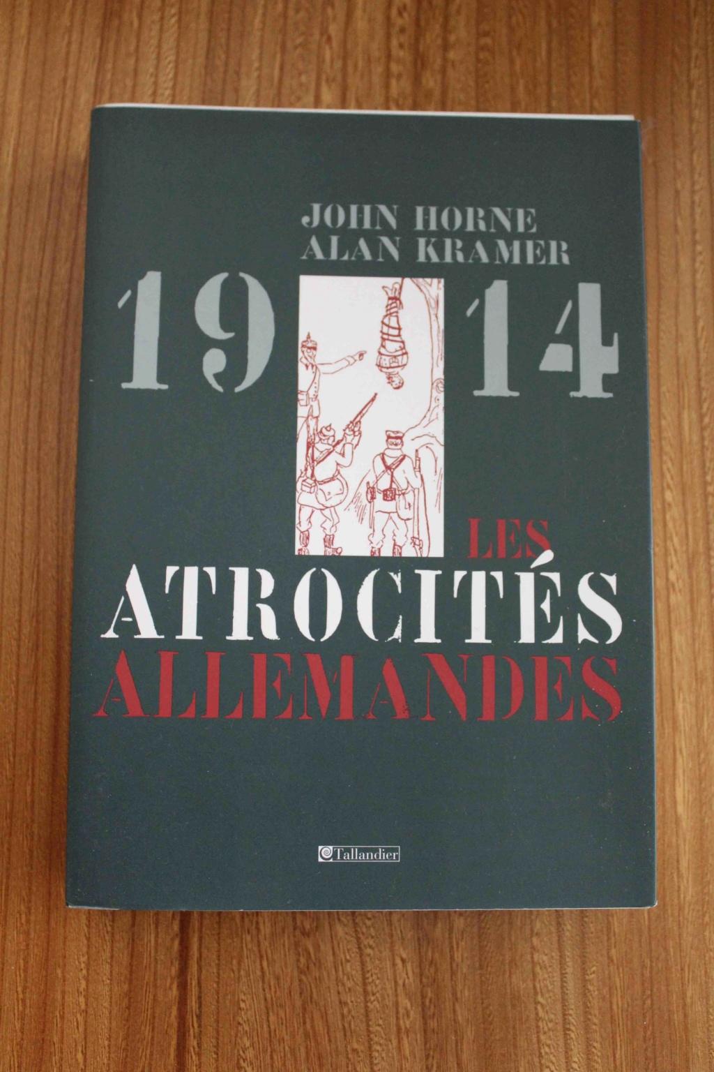 vends livres WW1 Atroci10