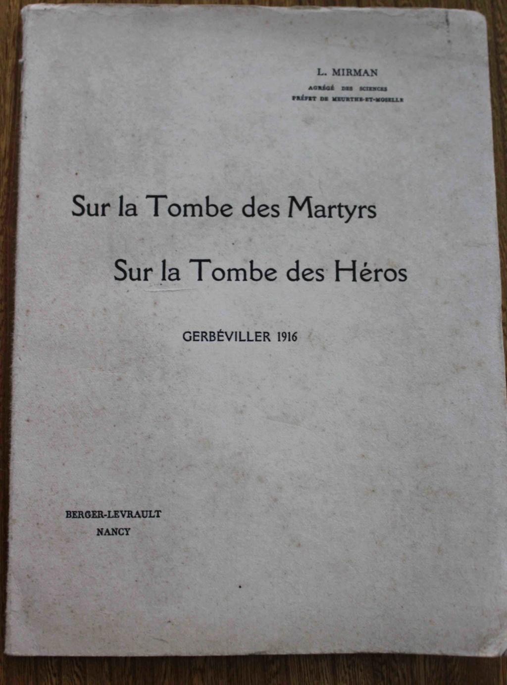 vends livres WW1 Mirman10