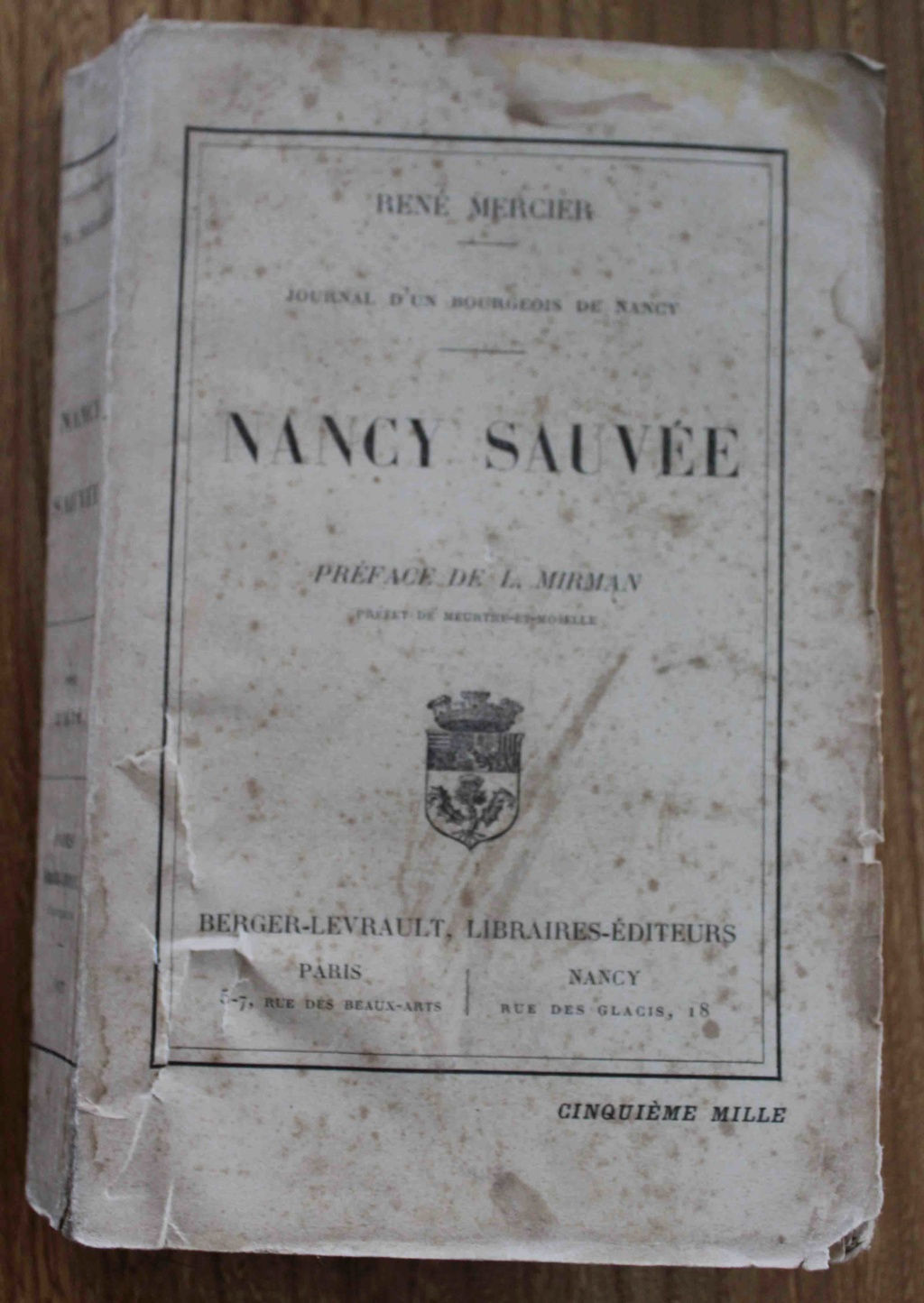 vends livres WW1 Nancy_11