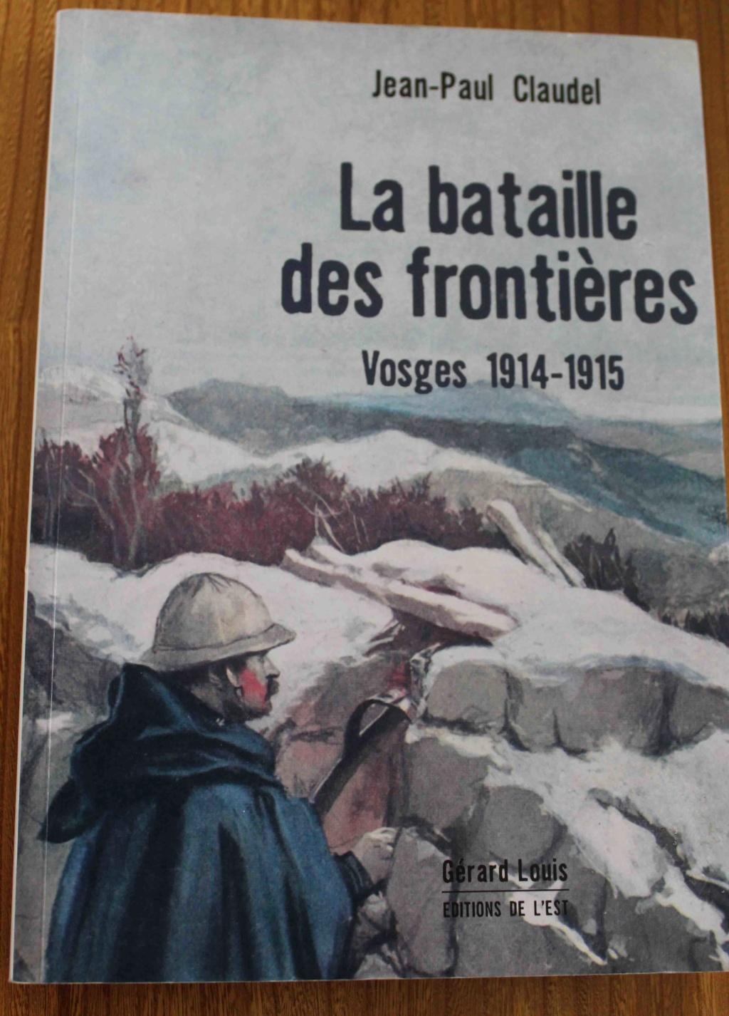 vends livres WW1 Vosges10