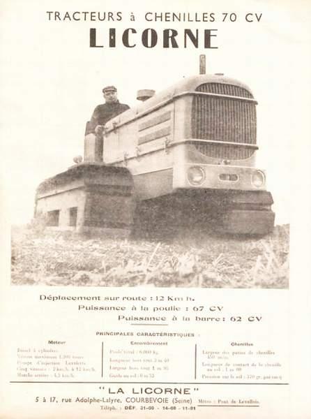 publicités du tracteur LICORNE 0_lico10