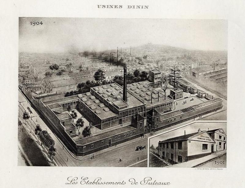 Les BATTERIES DININ : anciennes photos d'usine Dinin_11