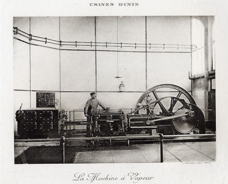 Les BATTERIES DININ : anciennes photos d'usine Dinin_13