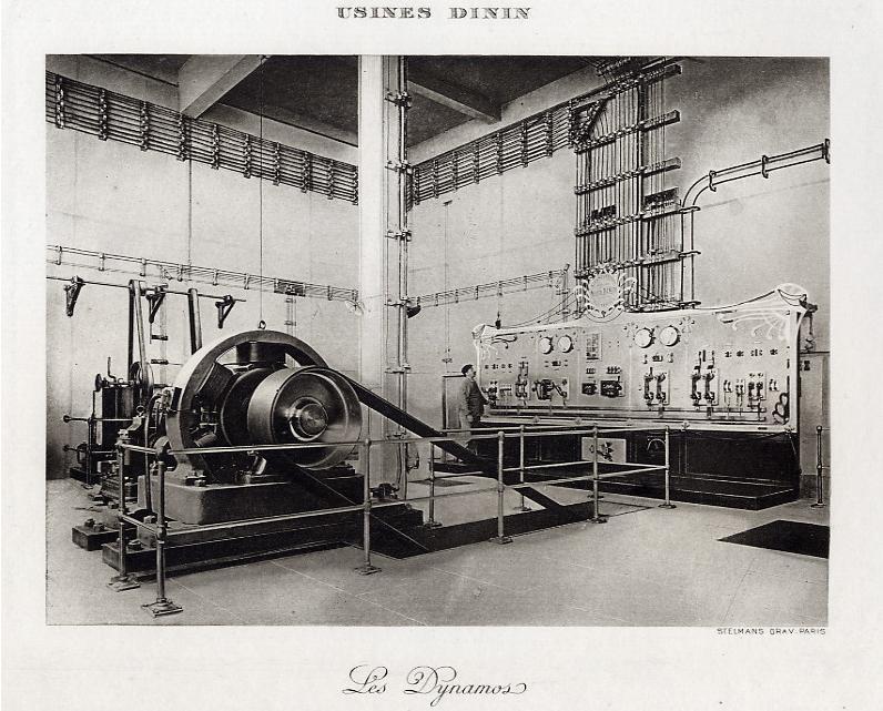 Les BATTERIES DININ : anciennes photos d'usine Dinin_14