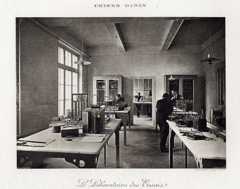 Les BATTERIES DININ : anciennes photos d'usine Dinin_15