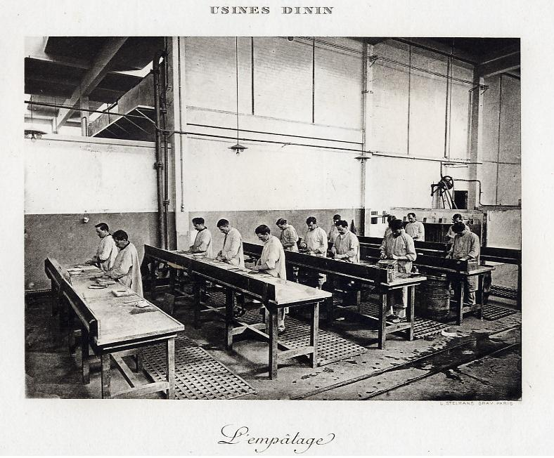 Les BATTERIES DININ : anciennes photos d'usine Dinin_16