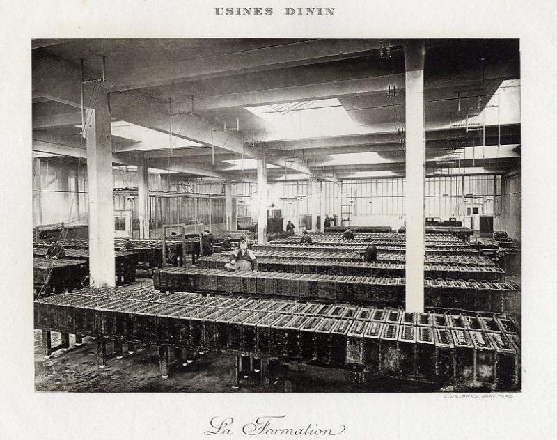 Les BATTERIES DININ : anciennes photos d'usine Dinin_17