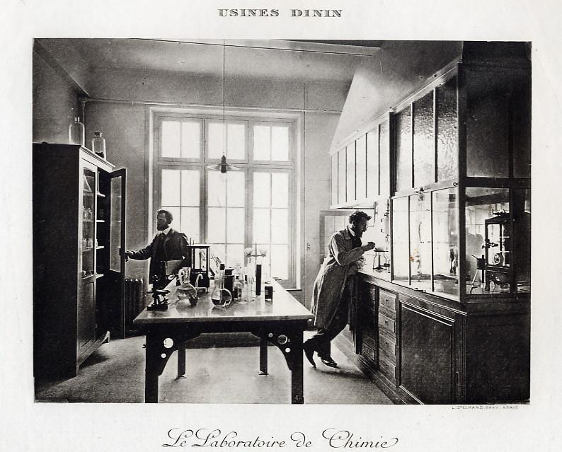 Les BATTERIES DININ : anciennes photos d'usine Dinin_18
