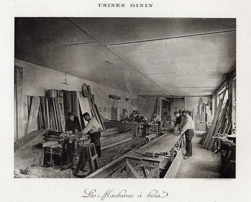 Les BATTERIES DININ : anciennes photos d'usine Dinin_19