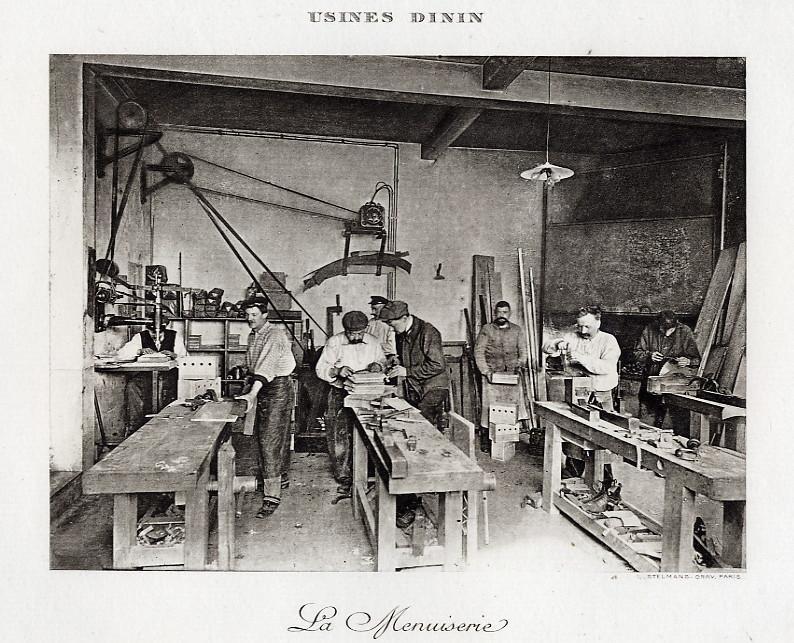 Les BATTERIES DININ : anciennes photos d'usine Dinin_20