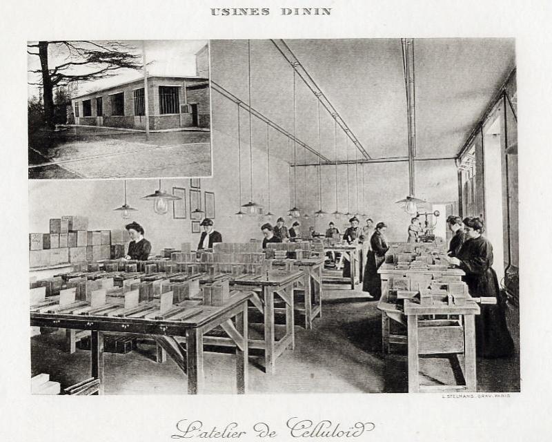Les BATTERIES DININ : anciennes photos d'usine Dinin_22