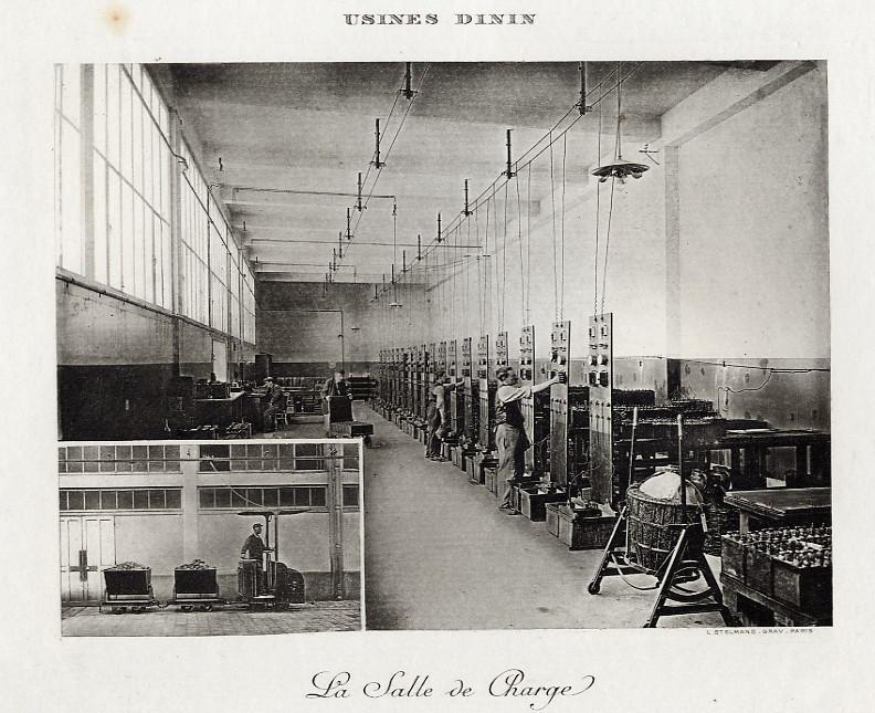 Les BATTERIES DININ : anciennes photos d'usine Dinin_23