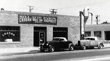 "Hot rod in street - Vintage pics - ""Photos rétros"" -  Bell-a10"