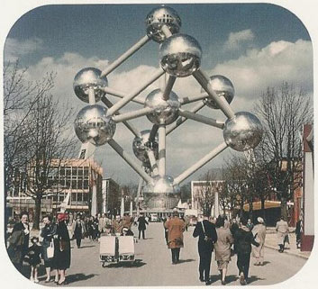Exposition Universelle 1958 Bruxelles Expo5810
