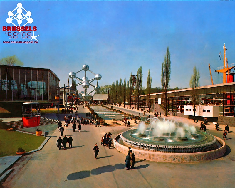Exposition Universelle 1958 Bruxelles Expo5811