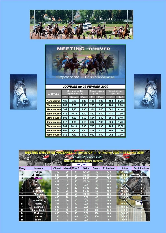 Resultats du Dimanche 02/02/2020 0202_211