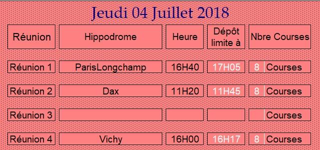 LA CAGNOTTE du Jeudi 04/07/2018 040714