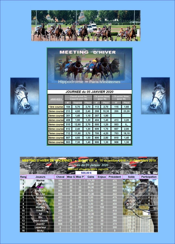 Résultats du Dimanche 05/01/2020 0502_310