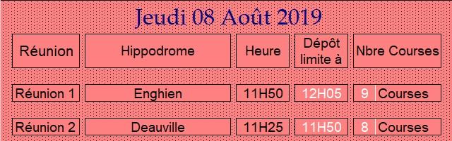 LA CAGNOTTE du Jeudi 08/08/2018 080815