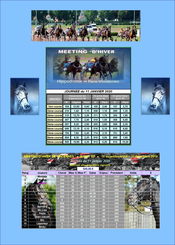 Résultats du Samedi 11/01/2020 1101_211