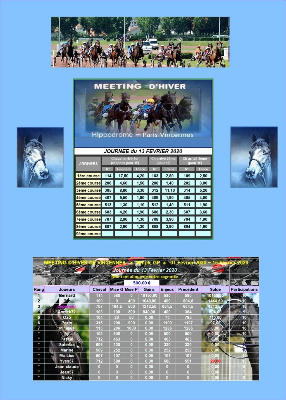 Résultats du Jeudi 13/02/2020 - CLT FINAL 1ère Quinz.FEVRIER 1302_212